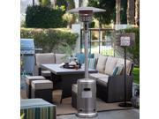 Outdoor Propane Patio Heater with accessories