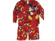 Disney Little Boys Blue Mickey Mouse Musical Notes 2 Pc Pajama Set 2T