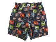 Disney Little Boys Multi Color Pixar Character Print Swimwear Shorts 3T