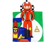 Kreative Kids Boys Multi Color Car Race Soft Hooded Poncho Bath Towel 9SIA4365HU3388
