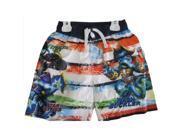 Skylanders Swap Force Little Boys White Red Character Print Swim Wear Shorts 7 9SIA4363SR3530