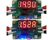 DC Step Down Converter 4.5-24V to 1-20V 2A Regulator Constant Voltage Current with Volt Ampere Meter Red LED