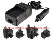 Charger for HITACHI DZ BP07S DZ BX35E Battery PANASONIC CGR DUO6 CGADU14 AC CAR