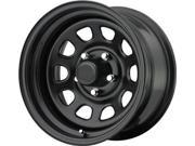 Pro Comp Wheels-5883R2.5 Rock Crawler Blk Wheel15X8 Bolt Patt. 6x5.5 Offset +51