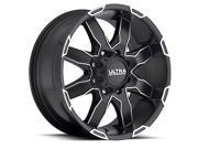Ultra Wheels Rims 225 17X8 8-6.5 Black  225-7882U+20