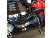 BBK 86-93 FORD MUSTANG 5.0L COLD-AIR INDUCTION INTAKE SYSTEM-FENDERWELL (BLACKOUT FINISH) 15575