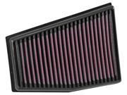 K&N Filters 33-3032 Air Filter Fits 13-15 RS5 9SIA08C4RB2146