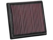 K&N Filters 33-5064 Air Filter Fits 17-18 Impreza 9SIA7J06X84762