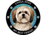 Lhasa Apso Best Friend Car, Refrigerator  Magnet