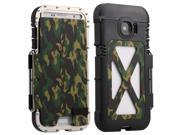 NEW R-JUST Luxury Metal Aluminum Shockproof Case Cover For Samsung Galaxy S7 - Camouflage