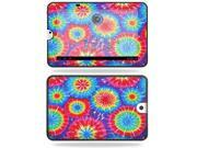 MightySkins Protective Vinyl Skin Decal Cover for Toshiba Thrive 10.1 Android Tablet sticker skins Tie Dye 1