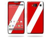 Mightyskins Protective Vinyl Skin Decal Cover for Motorola Droid Razr Maxx Android Smart Cell Phone wrap sticker skins - Scuba Flag