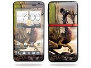 Mightyskins Protective Skin Decal Cover for HTC Evo 4G LTE Sprint Cell Phone T-Mobile wrap sticker skins Dragon World