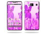 Mightyskins Protective Vinyl Skin Decal Cover for Motorola Droid Razr Maxx Android Smart Cell Phone wrap sticker skins - Pink Flowers