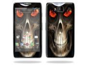 Mightyskins Protective Vinyl Skin Decal Cover for Motorola Droid Razr Maxx Android Smart Cell Phone wrap sticker skins - Evil Reaper