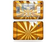MightySkins Protective Vinyl Skin Decal Cover for HTC EVO View 4G Android Tablet Sticker Skins Brown Butterfly