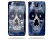 Mightyskins Protective Vinyl Skin Decal Cover for Motorola Droid Razr Maxx Android Smart Cell Phone wrap sticker skins - Haunted Skull