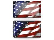 """Mightyskins Protective Vinyl Skin Decal Cover for Samsung Series 7 Slate 11.6"""" Inch Tablet wrap sticker skins American Pride"""