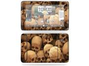 MightySkins Protective Vinyl Skin Decal Cover for HTC EVO View 4G Android Tablet Sticker Skins Skull Pile