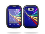 Mightyskins Protective Vinyl Skin Decal Cover for Nokia Lumia 900 4G Windows Phone AT&T Cell Phone wrap sticker skins Rainbow Twist