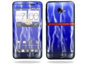 Mightyskins Protective Vinyl Skin Decal Cover for HTC Evo 4G LTE Sprint Cell Phone wrap sticker skins Lightning Storm