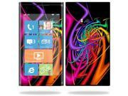 Mightyskins Protective Vinyl Skin Decal Cover for Nokia Lumia 900 4G Windows Phone AT&T Cell Phone wrap sticker skins Color Invasion