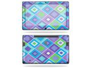 "MightySkins Protective Vinyl Skin Decal Cover for Samsung Series 7 Slate 11.6"" Inch Tablet sticker skins Pastel Argyle"