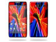 Mightyskins Protective Vinyl Skin Decal Cover for Motorola Droid Razr Maxx Android Smart Cell Phone wrap sticker skins - Color Blast