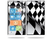 Mightyskins Protective Vinyl Skin Decal Cover for Nokia Lumia 900 4G Windows Phone AT&T Cell Phone wrap sticker skins Checkered Flag