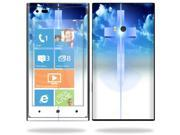 Mightyskins Protective Vinyl Skin Decal Cover for Nokia Lumia 900 4G Windows Phone AT&T Cell Phone wrap sticker skins Cross
