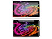 """Mightyskins Protective Vinyl Skin Decal Cover for Samsung Series 7 Slate 11.6"""" Inch Tablet wrap sticker skins Color Invasion"""