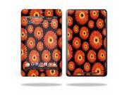 """Mightyskins Protective Skin Decal Cover for Asus Google Nexus 7 Tablet with 7"""" screen wrap sticker skins Orange Flowers"""