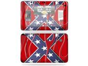 MightySkins Protective Vinyl Skin Decal Cover for HTC EVO View 4G Android Tablet Sticker Skins Dixie Flag