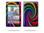 """MightySkins Protective Skin Decal Cover for Google Nexus 7 tablet 7"""" inch screen stickers skins Trippy Spiral"""