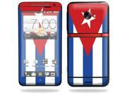 MightySkins Protective Vinyl Skin Decal Cover for HTC Evo 4G LTE Sprint Cell Phone Sticker Skins Cuban flag