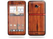 Mightyskins Protective Vinyl Skin Decal Cover for HTC Evo 4G LTE Sprint Cell Phone wrap sticker skins Knotty Wood