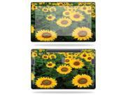 "Mightyskins Protective Vinyl Skin Decal Cover for Samsung Series 7 Slate 11.6"" Inch Tablet wrap sticker skins Sunflowers"