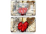 MightySkins Protective Vinyl Skin Decal Cover for HTC EVO View 4G Android Tablet Sticker Skins Stabbing Heart