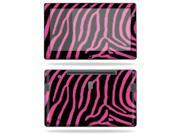 """Mightyskins Protective Vinyl Skin Decal Cover for Samsung Series 7 Slate 11.6"""" Inch Tablet wrap sticker skins Zebra Pink"""