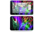 MightySkins Protective Vinyl Skin Decal Cover for HTC EVO View 4G Android Tablet Sticker Skins Neon Splatter