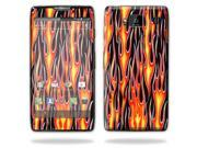 Mightyskins Protective Vinyl Skin Decal Cover for Motorola Droid Razr Maxx Android Smart Cell Phone wrap sticker skins - Hot Flames