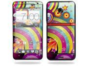 Mightyskins Protective Skin Decal Cover for HTC Evo 4G LTE Sprint Cell Phone T-Mobile wrap sticker skins Happiness
