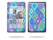 """MightySkins Protective Skin Decal Cover for Google Nexus 7 tablet 7"""" inch screen stickers skins Pastel Argyle"""