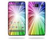 Mightyskins Protective Vinyl Skin Decal Cover for Motorola Droid Razr Maxx Android Smart Cell Phone wrap sticker skins - Rainbow Exp
