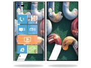 Mightyskins Protective Vinyl Skin Decal Cover for Nokia Lumia 900 4G Windows Phone AT&T Cell Phone wrap sticker skins Field Hockey