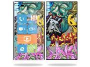 Mightyskins Protective Vinyl Skin Decal Cover for Nokia Lumia 900 4G Windows Phone AT&T Cell Phone wrap sticker skins Graffiti WildStyle