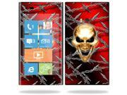 MightySkins Protective Vinyl Skin Decal Cover for Nokia Lumia 900 4G Windows Phone AT&T Cell Phone Sticker Skins Pure Evil