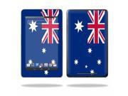"MightySkins Protective Skin Decal Cover for Asus Google Nexus 7 Tablet with 7"" screen Sticker Skins Australian Flag"