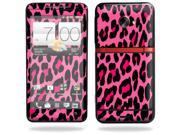 Mightyskins Protective Vinyl Skin Decal Cover for HTC Evo 4G LTE Sprint Cell Phone wrap sticker skins Pink Leopard