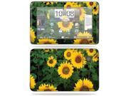 MightySkins Protective Vinyl Skin Decal Cover for HTC EVO View 4G Android Tablet Sticker Skins Sunflowers
